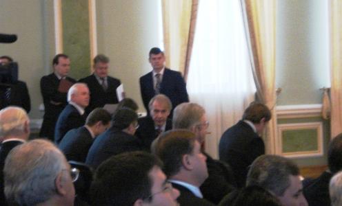 Фотозвіт урочистих зборів з нагоди Дня працівників дипломатичної служби України