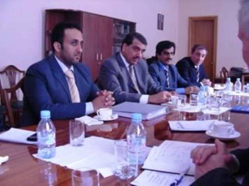 4 березня 2009 р. в Національному інституті стратегічних досліджень відбулася зустріч з делегацією Держави Катар.